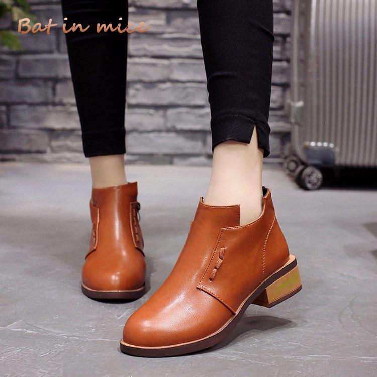 cf4278f9f0c Comprar Moda Acolhedores Mulheres Sapatos 2018 Outono Inverno PU ...