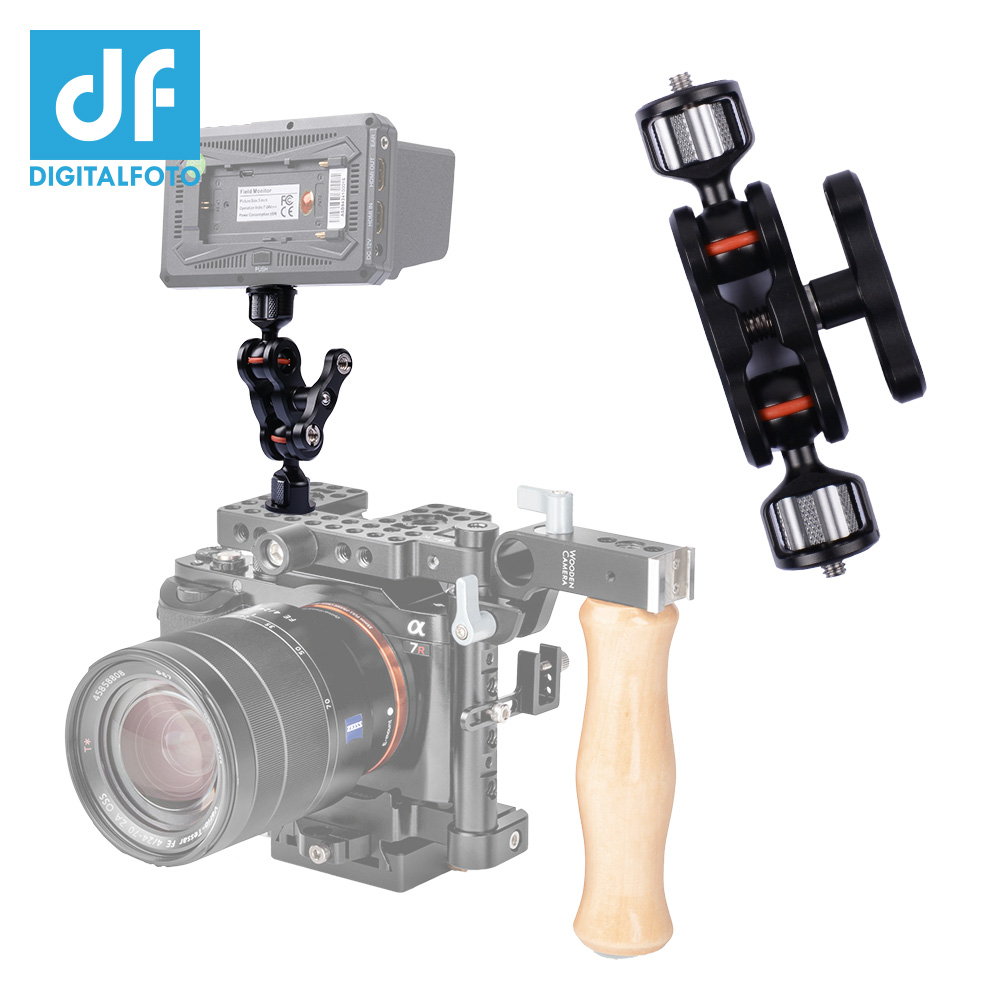 DIGITALFOTO BB01 high weight load inner ball head magic arm grip gimbal accessories monitor&LED light mount jaws super clamp