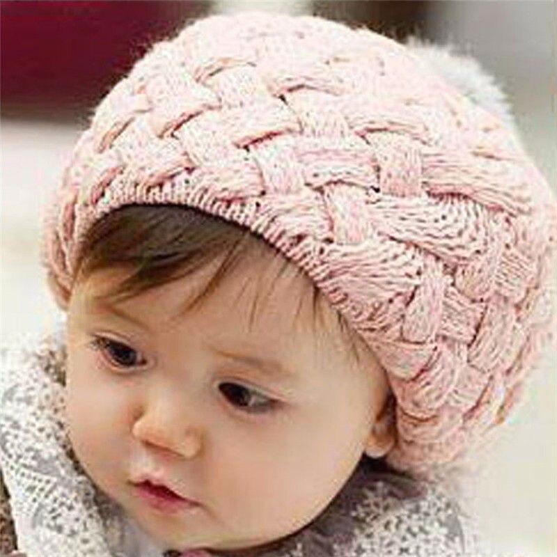 c24bba5d396d ୧ʕ ʔ୨Bebé recién nacido sombrero de lana hecho a mano ganchillo ...