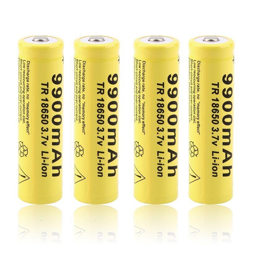 Image 3 - 20pcs 3,7 V 18650 аккумулятор, литиионый аккумулятор, 9900mAh 3,7 V литий ионная литиевая батарея для фонарика-in Подзаряжаемые батареи from Бытовая электроника