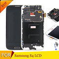 New S4 I9500/I9505 LCD for Samsung Galaxy S4 LCD Display Touch Screen Digitizer i9505 i9500 Frame Assembly Replacement