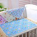Cotton Baby Waterproof Mattress Pad Cover Diapers Mat for Newborns Infant Breathable Soft Diaper Nappy Pads