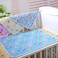 Do Bebê Do algodão À Prova D' Água Cobrir Colchão Tapete de Fraldas para Recém-nascidos Infantil Respirável Macio Fralda Almofadas