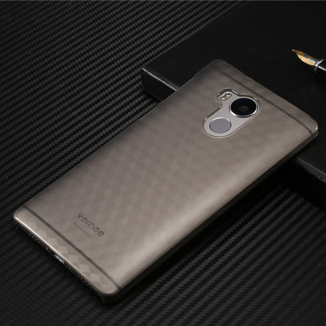 vernee apollo case with ultra thin pc back cover case for original phone bag accessories