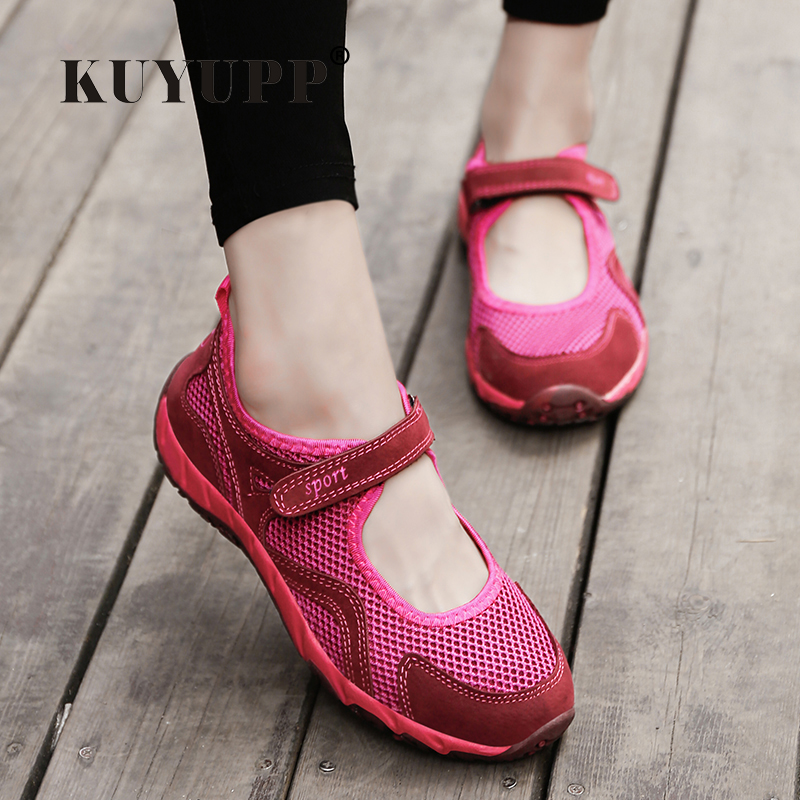 KUYUPP Women Casual Shoes Woman Trainers Breathable Shoes Flat With Low Top Shoes For Mother Ladies Walking Shoes Flats BT726 e lov women casual walking shoes graffiti aries horoscope canvas shoe low top flat oxford shoes for couples lovers