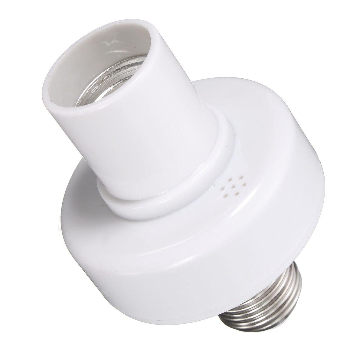 E27 Кепки винт 220 V Беспроводной дистанционного Лампа управления держатель переключатель W/Управление;
