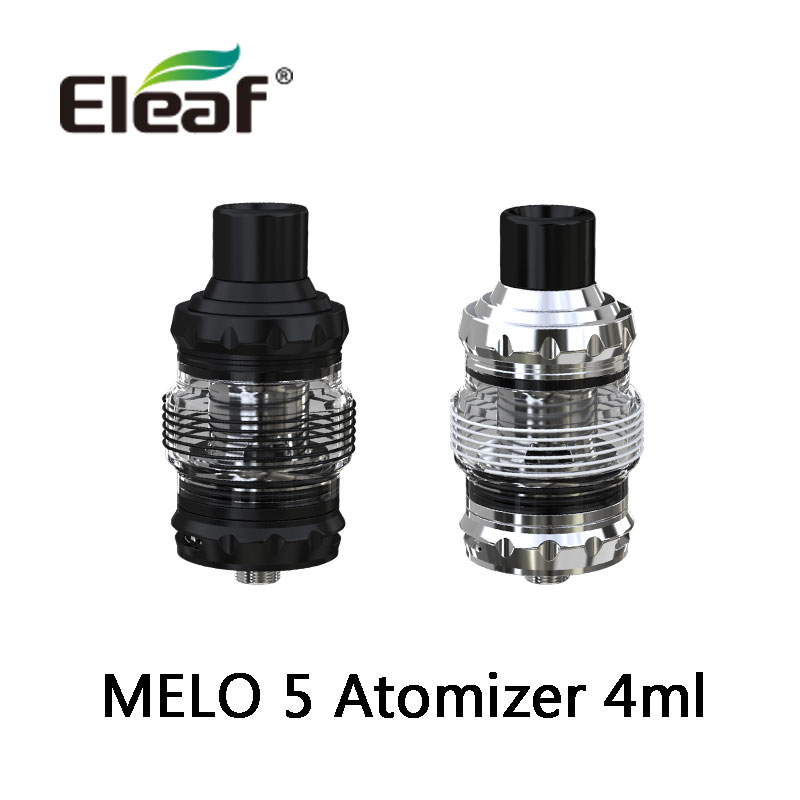 Original Eleaf MELO 5 Atomizer For IStick Rim Kit Mod Vaporizer 4ml Tank With EC-M/EC-S Coil Head