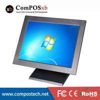 15 Inch LCD Touch Screen Cash Register For Restaurant Shop Screen Touch Pos Computer All In