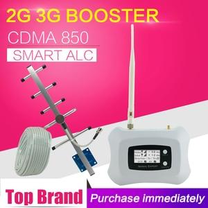 Image 1 - Gsm cdma 850 3g umts 850 repetidor 70db do impulsionador do sinal do telefone celular ganho gsm 850 mhz celular móvel amplificador repetidor 850 mhz