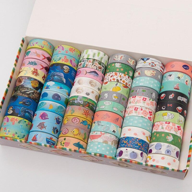 (5 Pieces/lot) Cute Washi Tape Animal Cintas Adhesivas Decoracion Scrapbooking Masking Tape Lot
