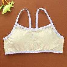 ФОТО student cotton breathable training underwear vest teen girl training bra