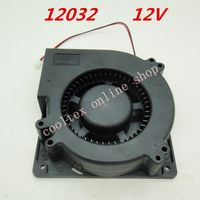 12032 Blower Fan Cooling Fan 12 Volt Brushless DC Fans 12CM Centrifugal Fan DC Turbo Fan