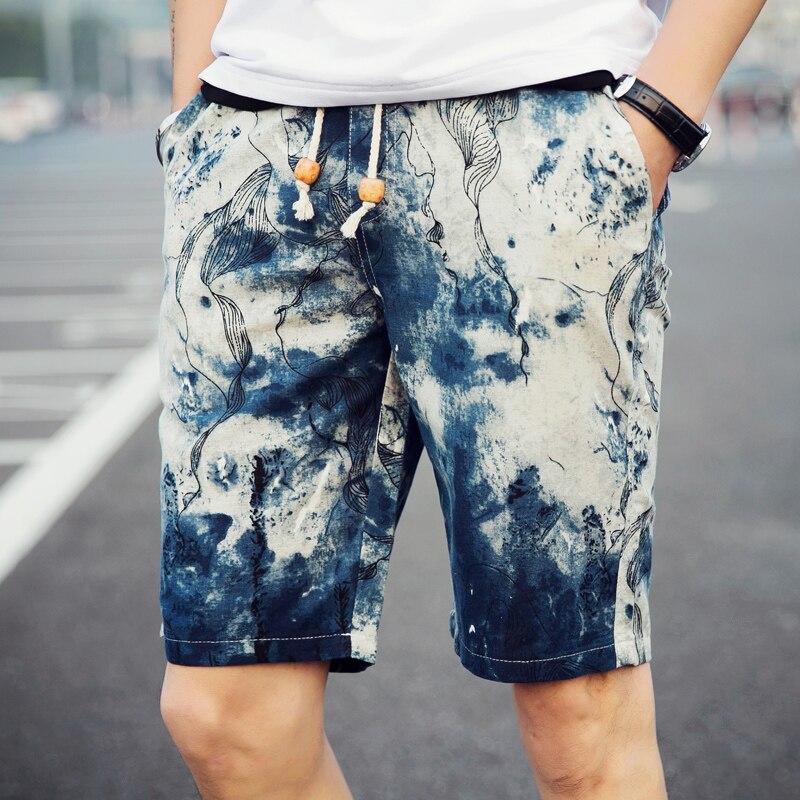 Popular Men Linen Shorts-Buy Cheap Men Linen Shorts lots from ...