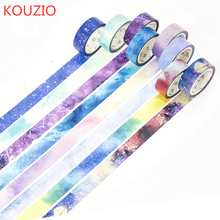 купить washi tape black cute glitter rainbow tape stickers scrapbooking  decorative tape fita adesiva papelaria cosas kawaii wide washi по цене 42.92 рублей