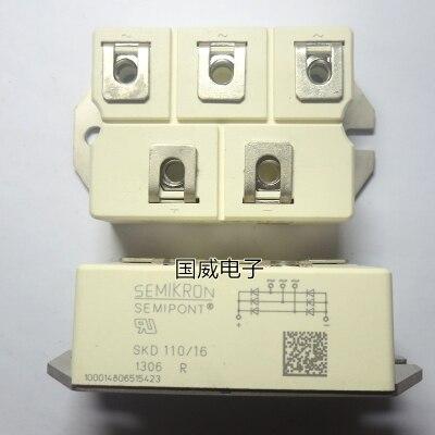 Freeshipping NEW SKD110/16 SKD11016 Power module   IGBT 6mbi50s 120 52 power module igbt freeshipping
