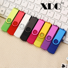 2017 Colorful whirling OTG Usb Flash Drive 8G 16G 32G 64G 128G Usb 2.0 Memory Stick Pen Drive Pendrive freeshipping