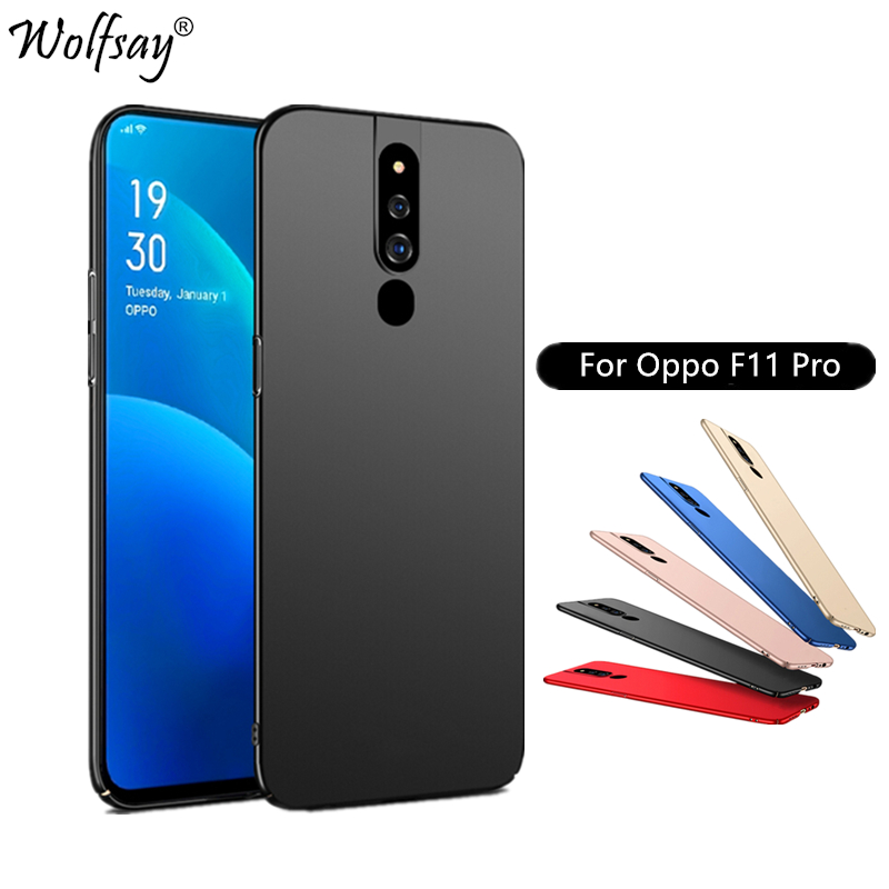 Case For Oppo F11 Pro Case A9 Ultra Thin Classic Smooth Matte PC Phone Cover For Oppo F11 Pro Cover For Coque Oppo F11 Pro Case