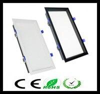 1 adet Led Panel hiçbir Kısılabilir Gömme led downlight 12 W 18 W 24 w 32 w Kare LED Spot ışık led tavan lambası AC110V 220 V