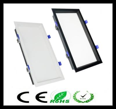 1pcs Led Panel no Dimmable Recessed led downlight 12W 18W 24w 32w Square LED Spot light led ceiling lamp AC110V 220V