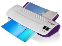 Laminator Office Hot Cold Thermal Laminating Machine Professional For A4 Document Photo PET Film Roll Laminator US EU plug