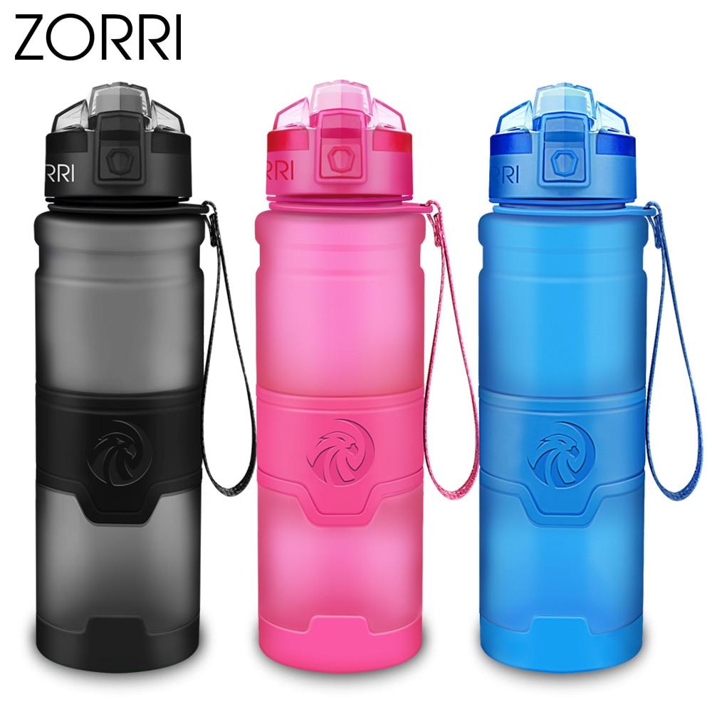 HTB1zTufOwHqK1RjSZFPq6AwapXaX ZORRI Lightweight Bottle for Water BPA-free Tritan Flask бутылка для воды 500ml/1000ml CE / EU Drinkware shaker botella de agua