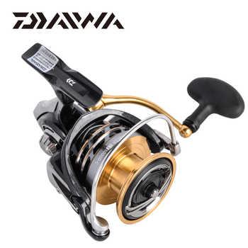 DAIWA EXCELER LT Spinning Fishing Reel 1000/2000/3000/4000/5000/6000 5.3:1 carretilha de pesca max drag 12kg reel fishing wheel