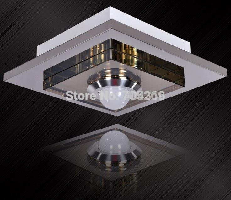 ФОТО 2014 new square led ceiling Chandelier aisle corridor entrance foyer crystal lighting