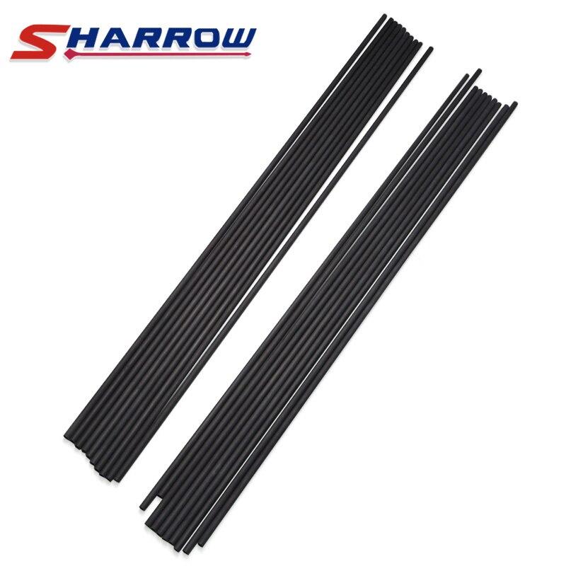 Sharrow 30 Pure Carbon Shaft Arrow 400 Spine for DIY Arrows 6 Pcs,12 Pcs,24 Pcs Compound Bow and Recurve