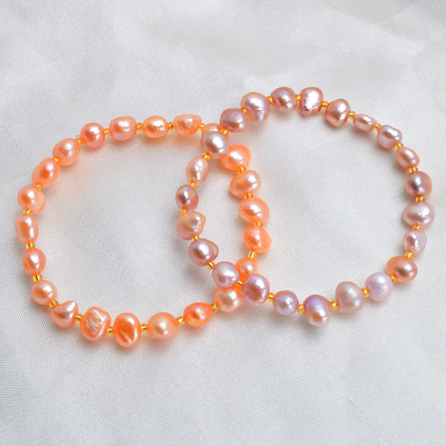 Natural Pearls Bracelet - 6 Colors 3