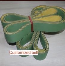 (Customized belt) Woodworking Planer Belt Router High Speed Nylon Sheet Baseband Transmission conveyor belt