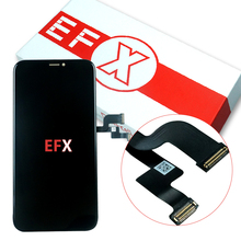 Pantalla LCD OLED de alta calidad para móvil, repuesto de pantalla táctil con ensamblaje digitalizador táctil 3D, para iPhone X, XS, XR, XS, MAX