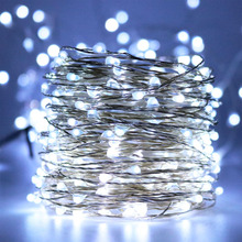 20M 66ft LED fairy Starry String Lights Rope LED Lights Decoration For Decorative Christmas Holiday, Wedding, Parties,Garden