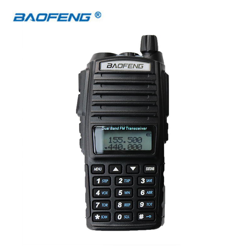 Baofeng UV-82 Walkie Talkie HAM Radio Dual Band 2 Way Portable Transceiver VHF UHF FM UV 82 Radios Handheld Stereo Speaker