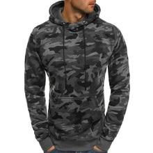 ZOGAA 2018 Hoodies Men Sweatshirt Hip Hop Male Military Pullover Autumn Winter 3XL