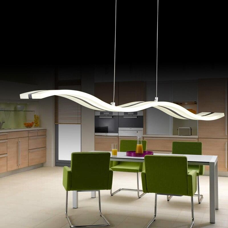 TOP 38 W dimmable LED moderne suspension lumière créative nouveauté maison intérieure suspension lampe pour salle à manger salon AC90-260V