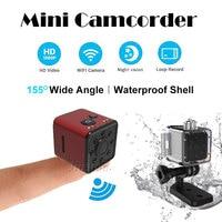 SQ13 Micro Mini WIFI Camera 1080P Full HD Video Audio Camcorder Waterproof Shell Night Vision Sensor DVR DV Motion Recorder Cam