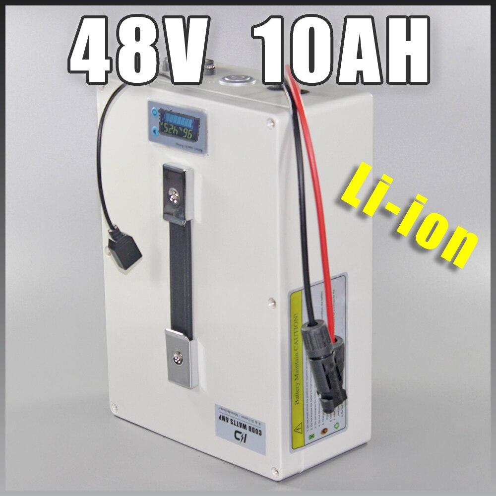 Batterie 48 v 1000 W ebike batterie multifonctionnelle IP68