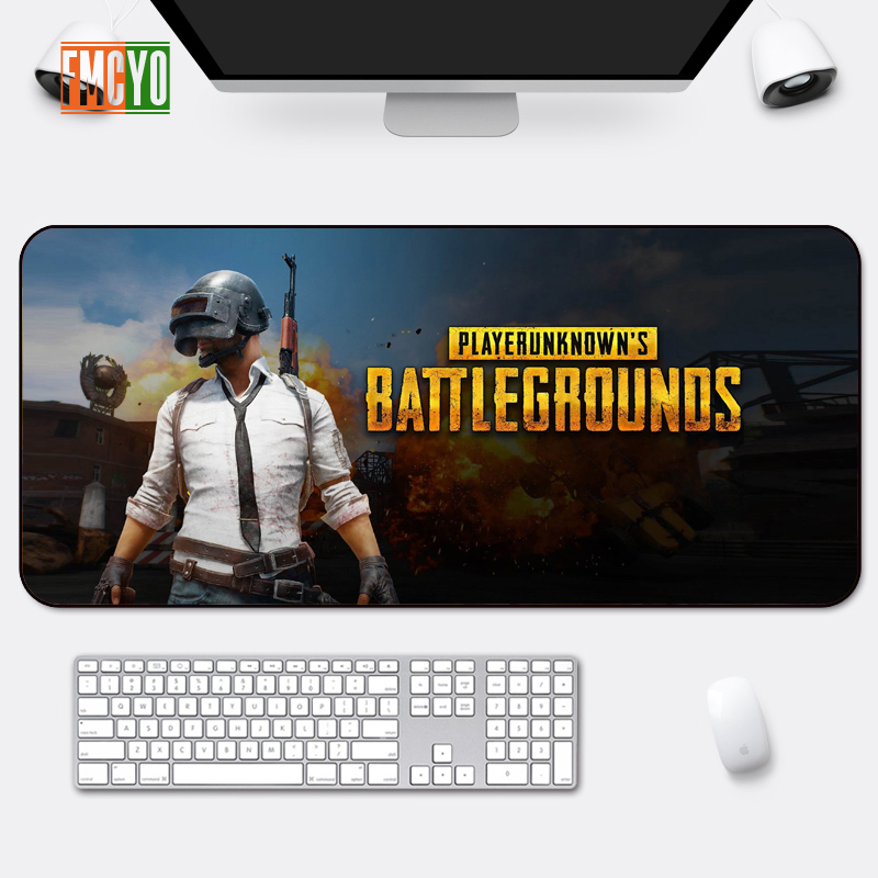 Image 5 - Hot Selling Game Oversized Mouse Mat Locking Anime Eating Chicken CF Athletic Thickening Table Mat Cute Office Anime Keyboard Ma-in Mouse Pads from Computer & Office