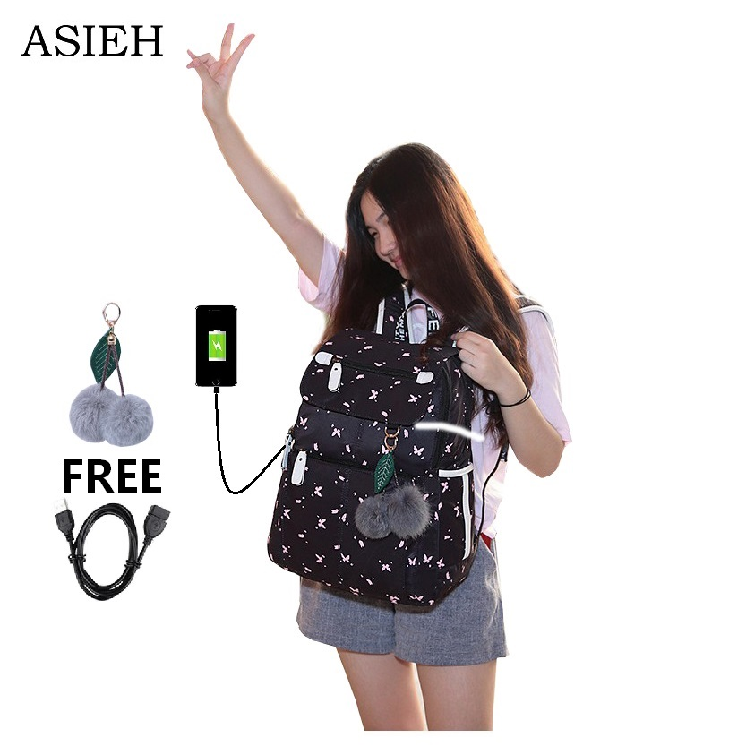 school bags for teens Girl waterproof laptop backpack student fashion school bag cute backpack for kids shoulder bag school ...
