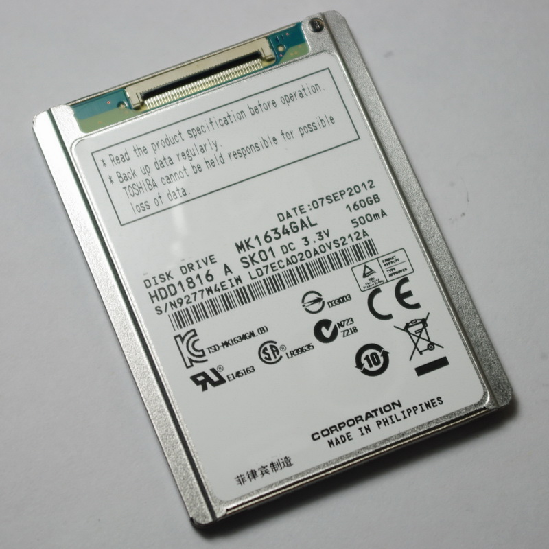 MK1634GAL Pour iPod classic 7th 160 GB driver remplacement CIB MC293 MC297 2.0.4 2.0.5