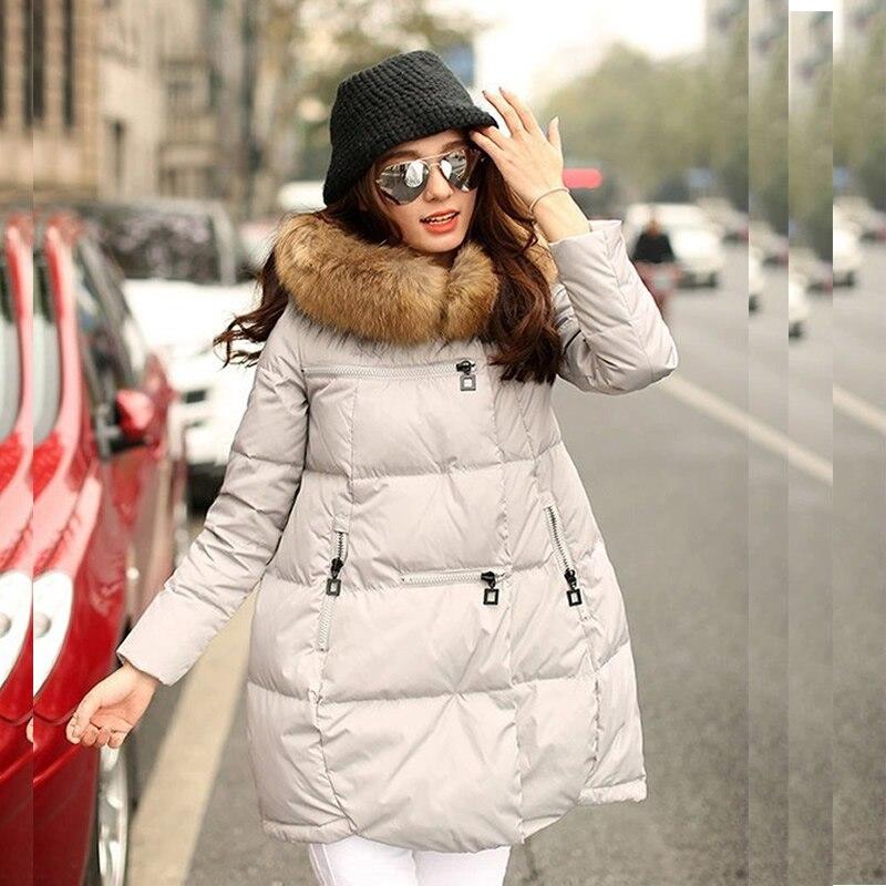 Maternity Coats Winter Women Clothes Manteau Cotton Warm Long Style Hooded Jacket Manteau Femme Hiver Pregnant Outerwear Parkas