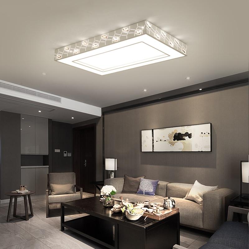 Aliexpress Kristall Deckenleuchte Aufbau Moderne Led Deckenleuchten Fr Wohnzimmer Leuchte Schlafzimmer Hause Dekorative Von Verlsslichen Modern