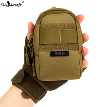 Male female nylon bag waist bag hung high quality wear-resistant vice package travel mobile phone accessories bag