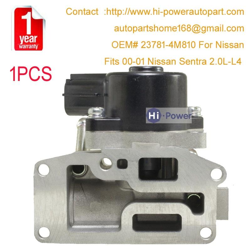 237814M810 23781 4M810 Idle Air Control Valve Hitachi For Nissan Sentra 2 0L