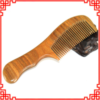 1Pcs High Quality Natural Material Sandalwood Comb Hair Wood Combs Massage Hair Styling Tools For Women
