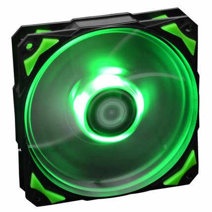 تحكم مبرد مياه Pl-12025 120 مللي متر Led Case مراوح 4 دبوس Pwm تحكم أحمر/أخضر/أزرق/أبيض