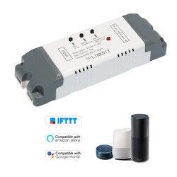 Умный Wifi переключатель универсальный модуль 2CH DC/AC7-32V беспроводной Таймер телефон приложение дистанционное управление для Amazon Alexa Google Home
