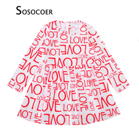 SOSOCOER Girl Dress Autumn 2017 New Fashion Letter LOVE Long-sleeve Kids Party Dresses High Quality Baby Girls Clothes Outfits