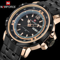 Men Sport Watches NAVIFORCE Luxury Brand Men S Quartz Watch Steel Band Hot Wristwatches For Men