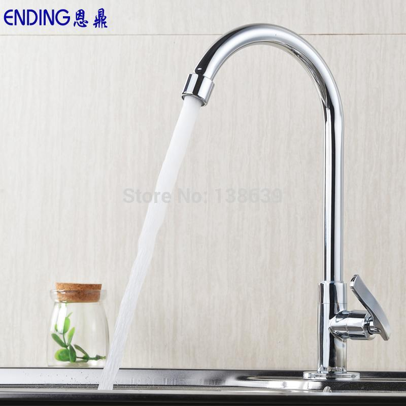 kitchen faucet torneira Mixer Tap Single Lever single cold Faucet kitchen Lavatory Tall Vessel Sink basin